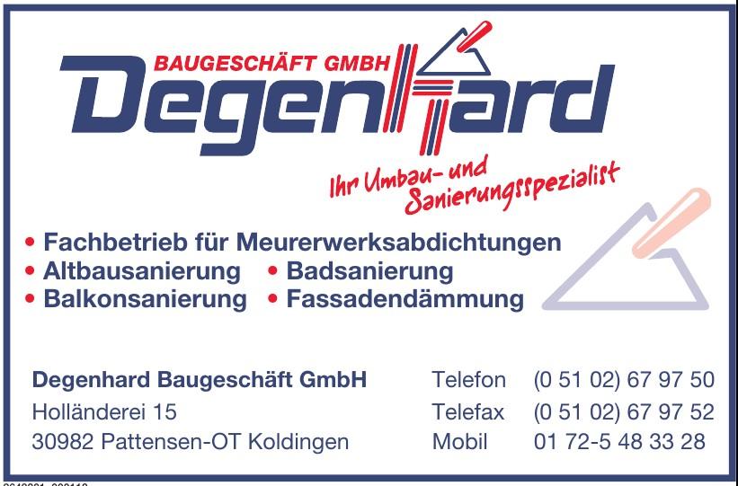 Degenhard Baugeschäft GmbH