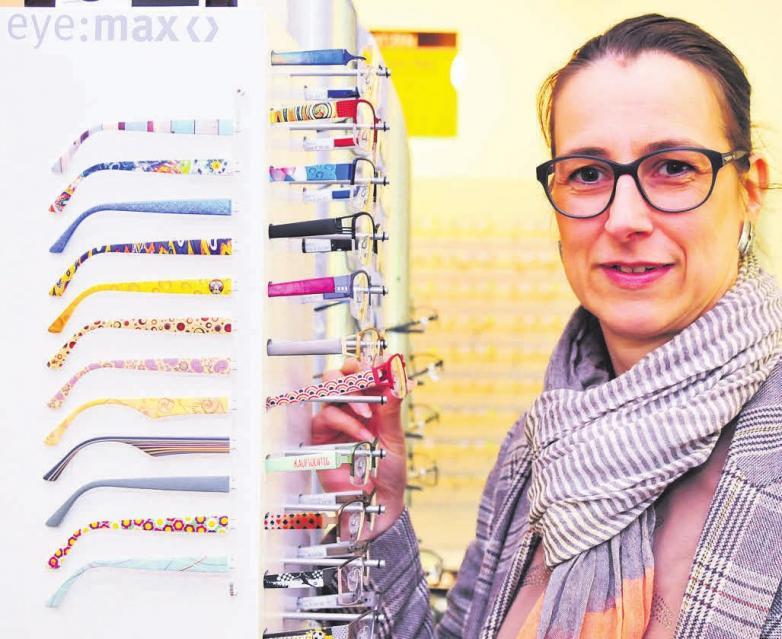 Bettina Schrake hat das Sortiment um eine Vielzahl neuer eye:maxBügel erweitert