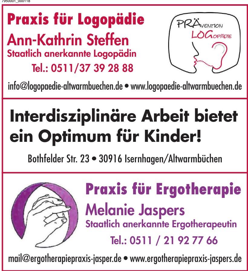 Praxis für Logopädie Ann-Kathrin Steffen
