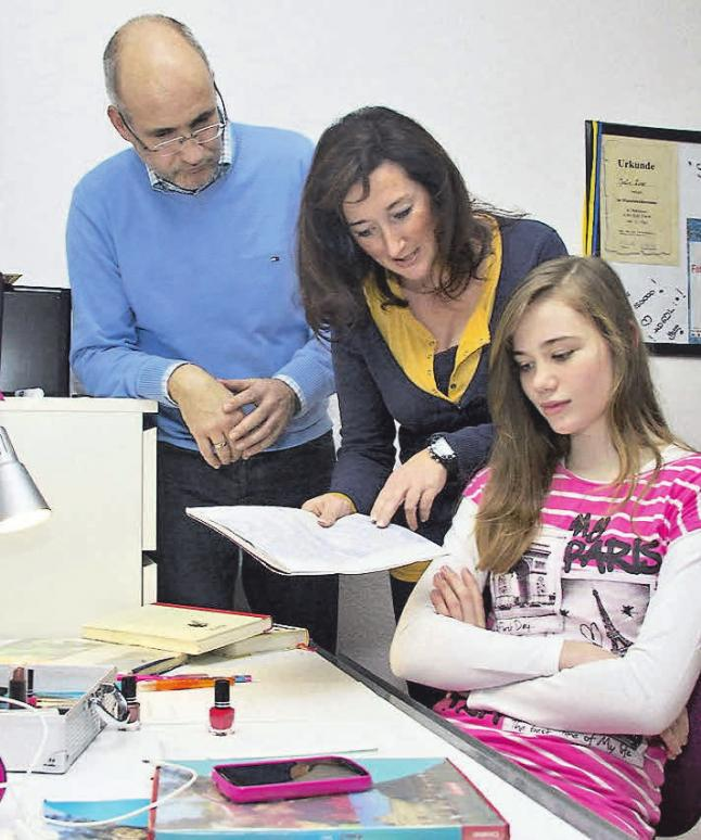 In vielen Familien kommt es zu schlechter Stimmung, wenn die Schulnoten der Kids nicht stimmen. Foto: Studienkreis